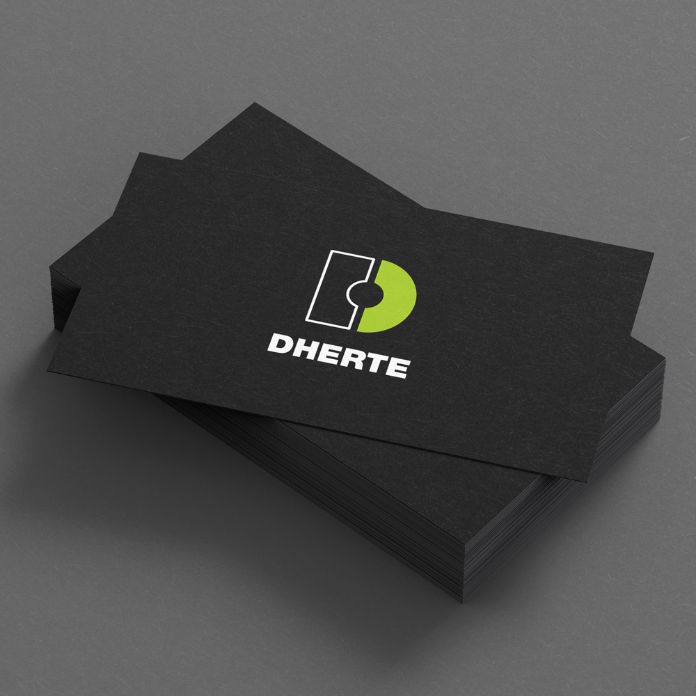 Dherte's Business Cards